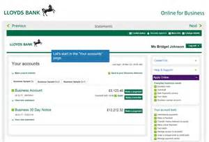 business banking lloyds find your bank statements lloyds bank