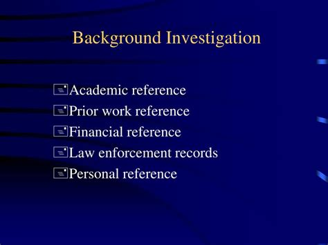 Background Investigation Background Investigation Images