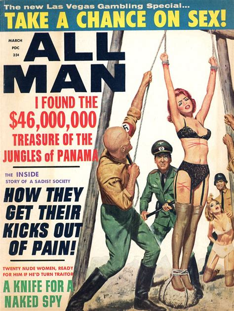 Torture Pulp Covers