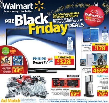 walmart: pre black friday deals (nov 20 26) edmonton