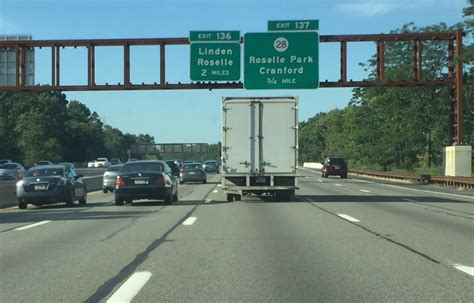 Exit 105 Garden State Parkway by How Do You Report An Oversized Truck On The Garden State Parkway Nj