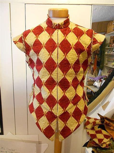 harlequin pattern clothes harlequin doublet front doublet