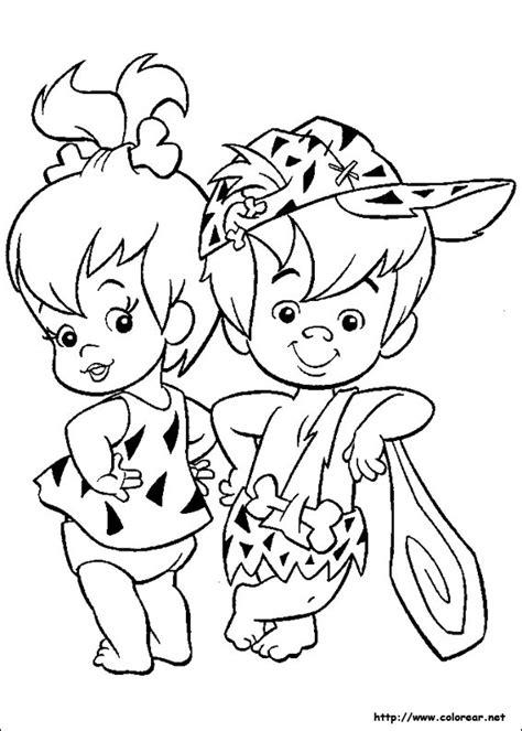 maestra infantil los picapiedra dibujos colorear gifs animados