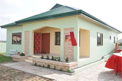 vodafone ghana gives away 3 bedroom house in cool chop