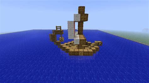 minecraft little boat little viking ship minecraft project