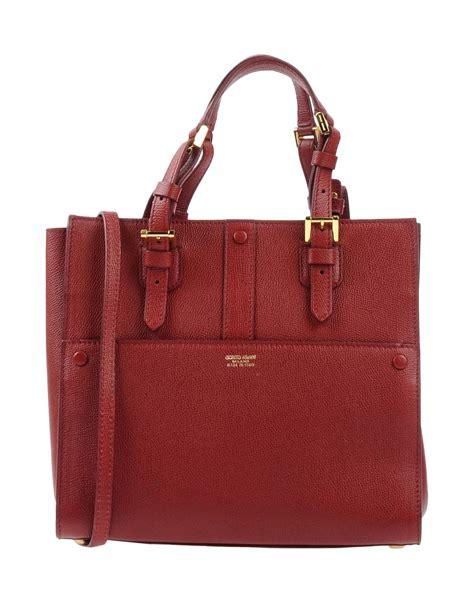 Bag Selempang Giorgio Armani 9661 lyst giorgio armani handbag in purple