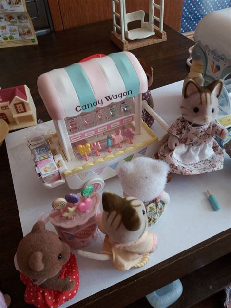 alternative life sylvanian families candy wagon product review