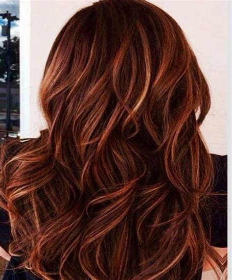 layered hair color ideas layered hairstyles copper brown colors ideas looking