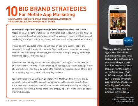 Big Brand big brand strategies for mobile app marketing