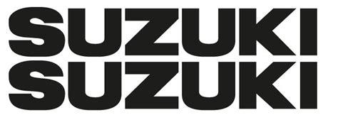 Suzuki Aufkleber by Www Timos Plottshop De Suzuki Schriftzug Aufkleber Set