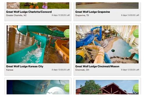 great wolf lodge pa coupons