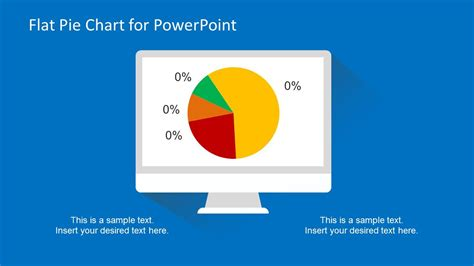 pie chart template powerpoint flat pie chart template for powerpoint slidemodel
