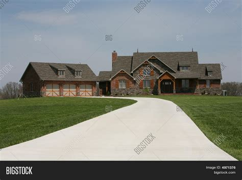 large spanish style ranch home stock image image 24083641 ranch home stock photo stock images bigstock