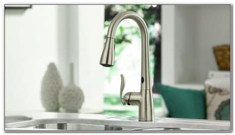 touch free kitchen faucets best touch free kitchen faucet sinks and faucets home