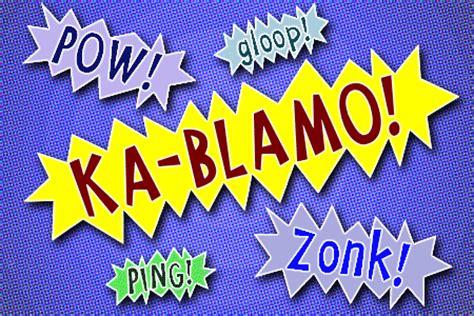 Kaos Komik Efek Komik Boom 5 font keren untuk membuat komik beta photoshop