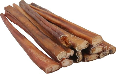 puppy sticks top chews thick 12 quot bully stick treats 12 count chewy