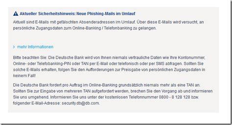 deutsche bank kontostand abfragen deutsche bank ag telefon pin internetbetr 252 ger versenden