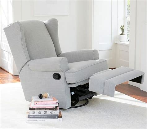 rocking recliners for nursery 25 best ideas about pottery barn nursery on pinterest