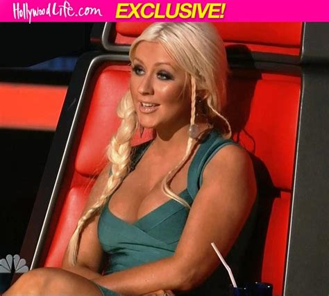 Is Aguilera Getting by Aguilera Is Not Getting Fired From The Voice