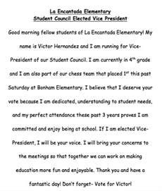 Presidential Speech Outline by Write Essay Kunstinhetvolkspark Nl Sle Essay For Student Council