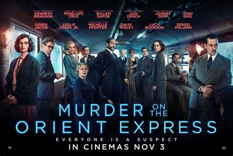2017 movies murder on the orient express by kenneth branagh murder on the orient express 2017 film