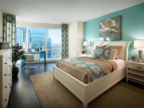 aqua color bedroom photos hgtv