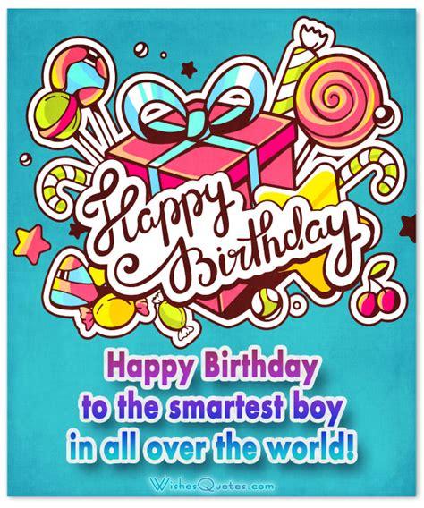 Happy Birthday Wishes To Small Boy Birthday Wishes For Boys