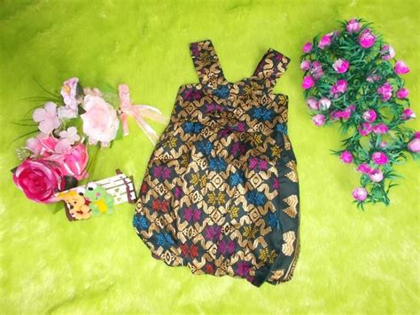 Daun Balon Batik by Dress Batik Bayi Balon Yukensi Emas Kembar Batik Dress