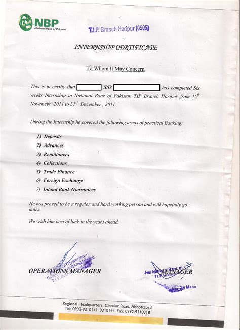 Complaint Letter To State Bank Of Pakistan internship report2