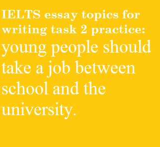 Ielts Essay On Different Topics by How To Write This Ielts Topic On Between School And Archives Fryenglish