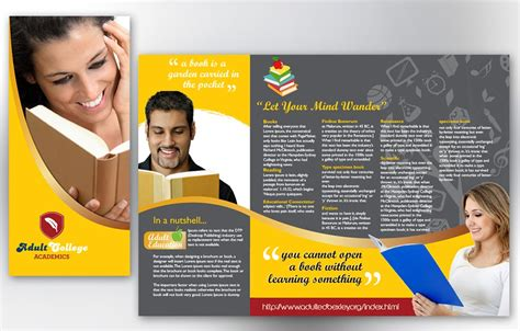 free brochure templates examples 20 free templates