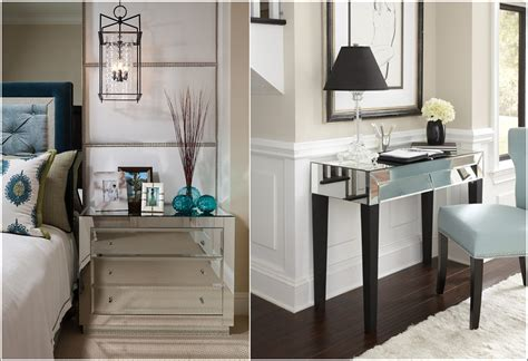at home mirrored furniture glamorous mirrored furniture for your home