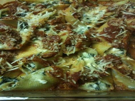 Stuffed Shells Recipe With Cottage Cheese by Spinach And Cottage Cheese Stuffed Shells No Ricotta