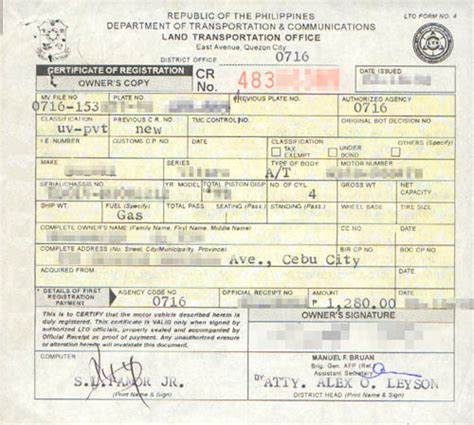 Car Types By Registration by Faq Where To Find Your Car Information