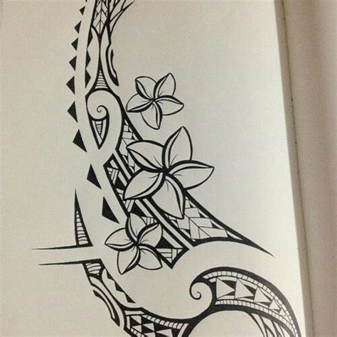 simple polynesian tattoo design simplicity tribal drawing tattoos pinterest tribal