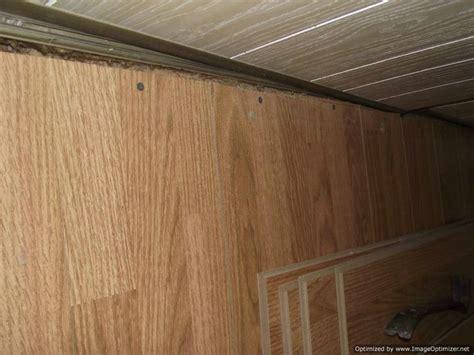 bad laminate installation repair