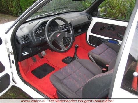 Peugeot 106 Carpet sold complete interior for peugeot 106 1 3 rallye