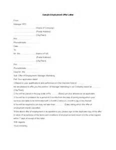 Sample employment offer letter hashdoc