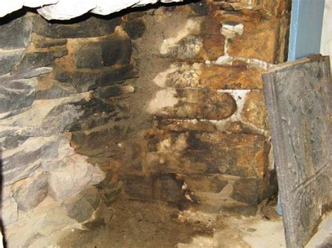 Water Leaking Into Fireplace by Portjervisny Minisink Valley Historical Society