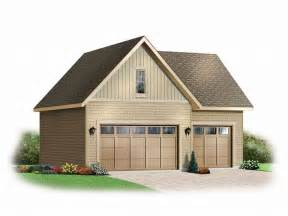 Garage Plan by 3 Car Garage Plans Three Car Garage Loft Plan 028g
