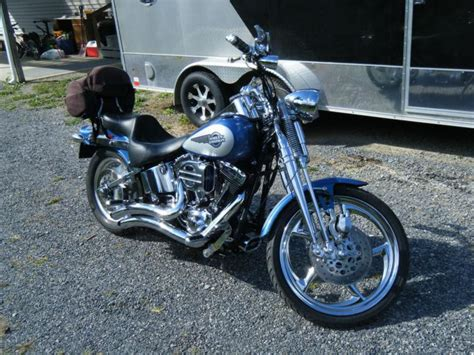 Harley Davidson White Silver 1 buy 2005 harley springer softail tu tone blue and on 2040 motos
