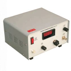 gunn diode power supply gunn power supply model x 111 from vidyut yantra udyog manufacturer of power supply systems