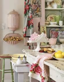 Pink And Green Home Decor Shabby Chic Decor And Kitchen Curtain Ideas Afreakatheart
