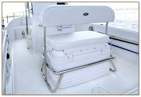 cooler seat for a boat boat coolers with seat cushions