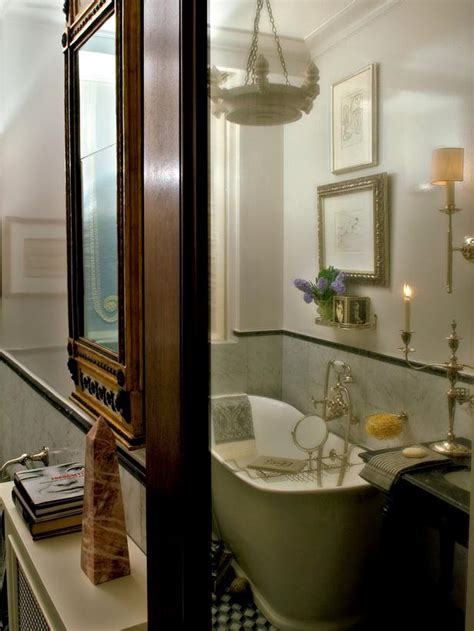 blue eclectic bathroom photos hgtv powder room with bright black and white bathroom with soaking tub designers