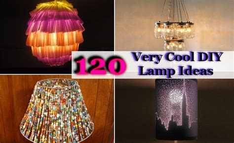 Coolest Lamps 120 Very Cool Diy Lamp Ideas Home So Good