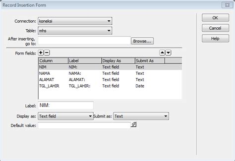tutorial membuat website php dengan dreamweaver tutorial membuat web desain php dengan adobe dreamweaver