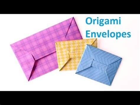 How To Make Your Own Origami Envelope From Paper - origami envelopes how to make your own beautiful origami