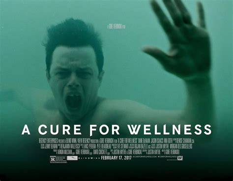 a cure for wellness 2017 poster 1 trailer addict