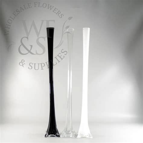 Eiffle Tower Vase by 24 Quot Glass Eiffel Tower Vase Wholesale Flowers And Supplies